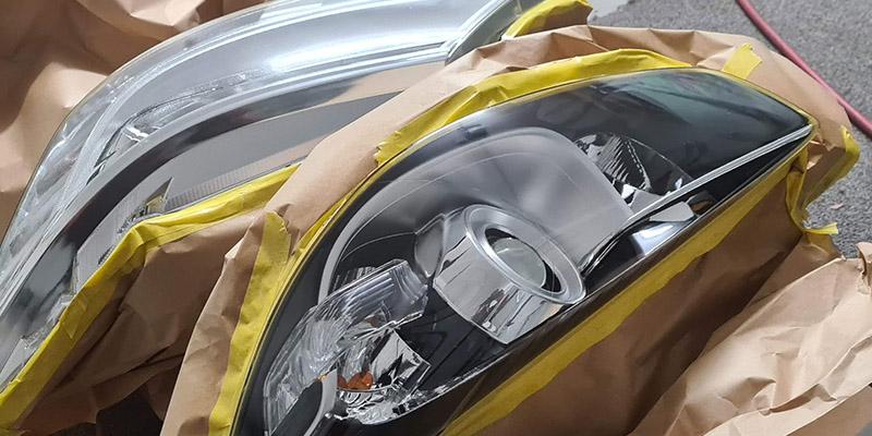 headlight restoration polishing