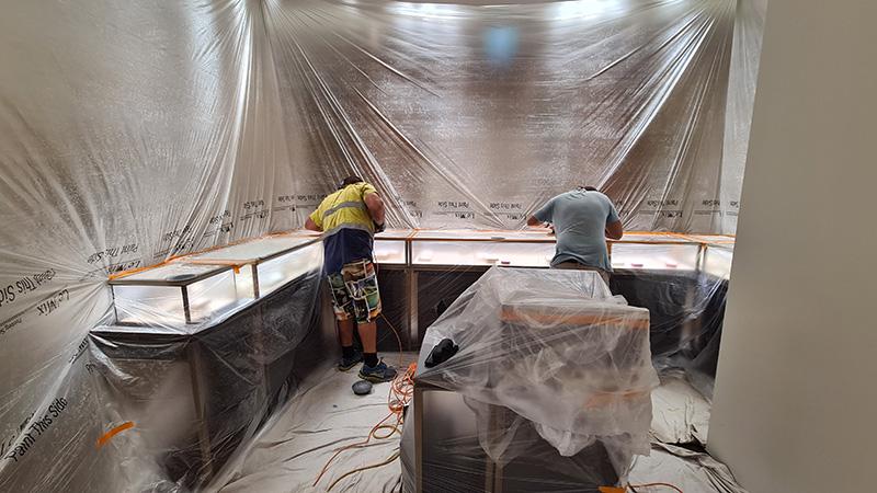 countertop glass repair