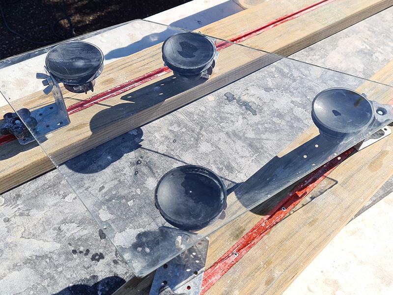 door glass scratch removal